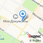 Детский сад №13 на карте Санкт-Петербурга