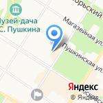 Отдел надзорной деятельности Пушкинского района на карте Санкт-Петербурга