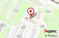 Схема проезда до компании Объединение Аромакомплекс в Санкт-Петербурге