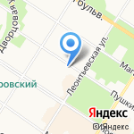 Северная Домостроительная Группа на карте Санкт-Петербурга