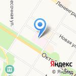 Пушкинский противотуберкулезный диспансер на карте Санкт-Петербурга
