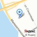 Головные уборы Татьяны Тараскиной на карте Санкт-Петербурга