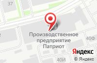 Схема проезда до компании Резонанс в Санкт-Петербурге