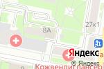 Схема проезда до компании Пинстрой в Санкт-Петербурге