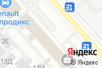 Схема проезда до компании Installauto в Санкт-Петербурге