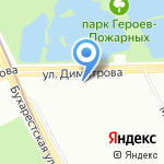 Эксперт Консалт на карте Санкт-Петербурга