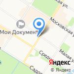 Ортомедик на карте Санкт-Петербурга