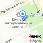 Центр социальной реабилитации инвалидов и детей-инвалидов на карте Санкт-Петербурга
