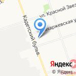 Витус на карте Санкт-Петербурга