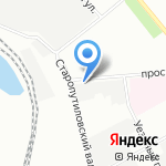 КМД Сервис на карте Санкт-Петербурга
