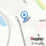 Маркова на карте Санкт-Петербурга