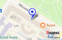 Схема проезда до компании ПРОДОВОЛЬСТВЕННЫЙ РЫНОК ИНФОРМ-БЮРО в Пушкине