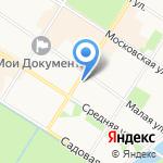 Почтовое отделение №601 на карте Санкт-Петербурга