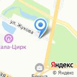 Грамотный автосервис на карте Санкт-Петербурга