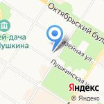 Подологический кабинет на карте Санкт-Петербурга