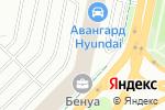 Схема проезда до компании ИНТЕРСТРОЙВЕНТ в Санкт-Петербурге
