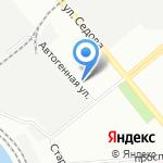 Корветремстрой на карте Санкт-Петербурга