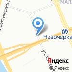 ВсЁзнайка на карте Санкт-Петербурга