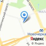 Адвокатская консультация №46 на карте Санкт-Петербурга