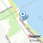 СервисПрофСтрой на карте Санкт-Петербурга