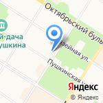 Жела на карте Санкт-Петербурга