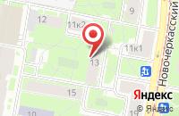 Схема проезда до компании Аскор Лтд в Санкт-Петербурге