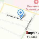 Моррис на карте Санкт-Петербурга