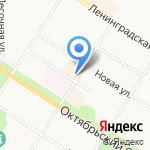 Правый берег на карте Санкт-Петербурга