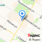 Жилкомсервис №2 Пушкинского района на карте Санкт-Петербурга