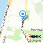 Uni-set mobile на карте Санкт-Петербурга