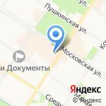 Элика на карте Санкт-Петербурга