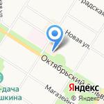 Artistic на карте Санкт-Петербурга