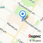 SL код на карте Санкт-Петербурга