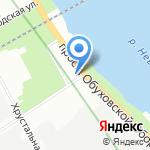 Слава на карте Санкт-Петербурга