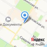 Wake up! на карте Санкт-Петербурга
