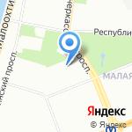 Dekmann на карте Санкт-Петербурга