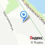 ТГА на карте Санкт-Петербурга