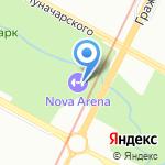 АЗБУКА СПОРТА на карте Санкт-Петербурга
