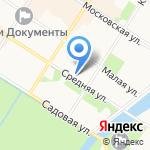 Космос на карте Санкт-Петербурга