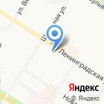 Почтовое отделение №607 на карте Санкт-Петербурга