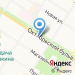 Duty Free Flowers на карте Санкт-Петербурга