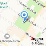 Музей храмов царскосельского благочиния на карте Санкт-Петербурга