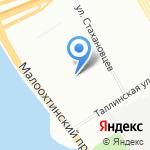 Средняя общеобразовательная школа №152 на карте Санкт-Петербурга