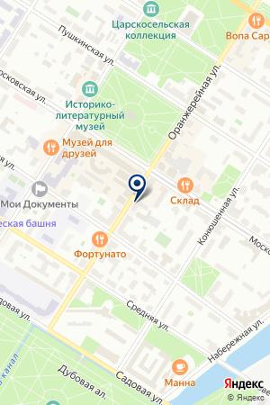 МЕБЕЛЬНЫЙ МАГАЗИН ГРАНИ на карте Пушкина