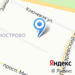 Детский сад №20 комбинированного вида на карте Санкт-Петербурга