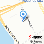 Детский сад со всех сторон на карте Санкт-Петербурга