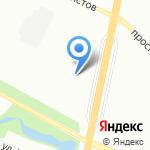 Городская поликлиника №54 на карте Санкт-Петербурга