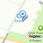 Замшинская на карте Санкт-Петербурга