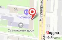 Схема проезда до компании Амурское в Санкт-Петербурге