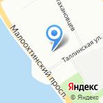 Аудит Оценка Центр на карте Санкт-Петербурга